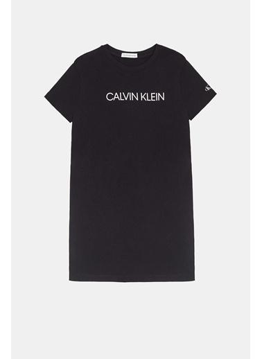 Calvin Klein Kız Çocuk Elbise 20SS1CK0468 Beyaz